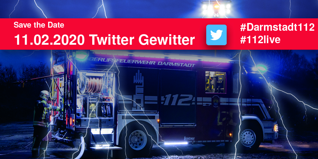 Save the Date - Twitter Gewitter 2020